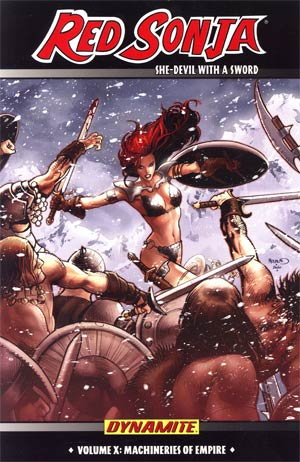 Red Sonja Vol 10 Machineries Of Empire TP