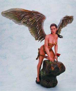 Fantasy Figure Gallery Boris Vallejos Her Garden Statue
