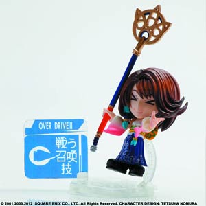 Final Fantasy Trading Arts Kai Mini Figure - Yuna