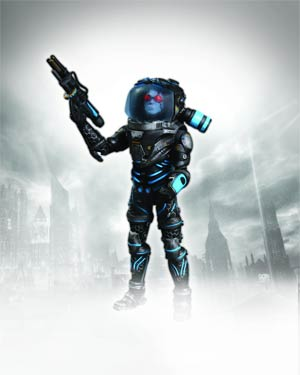 Batman Arkham City Mr Freeze Deluxe Action Figure