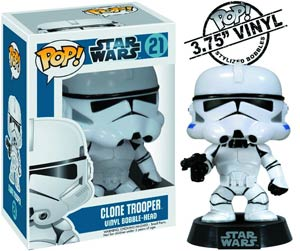 POP Star Wars 21 Clone Trooper Vinyl Bobble Head