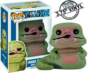 POP Star Wars 22 Jabba The Hutt Vinyl Bobble Head