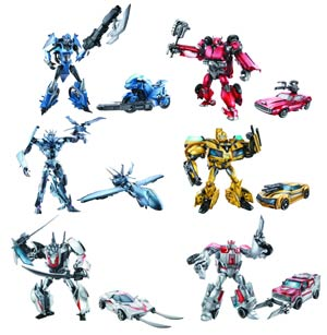 Transformers Prime Deluxe Action Figure Assortment Case 201202