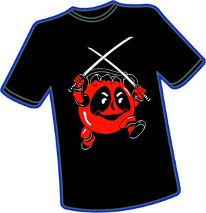 Deadpool Aid T-Shirt Large