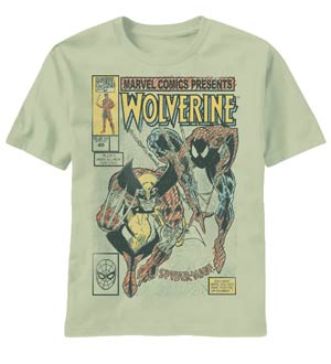 Wolverine Drawn To Cover Sand T-Shirt Large