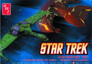 Star Trek Adversary 2-Piece Model Kit Set
