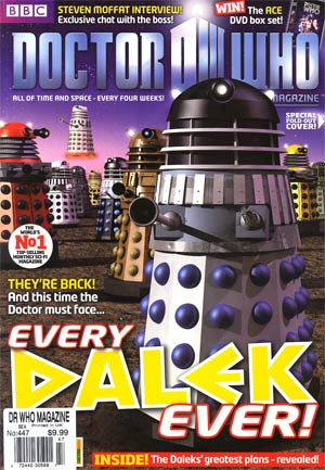 Doctor Who Magazine #447
