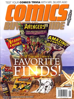 Comics Buyers Guide #1692 Aug 2012