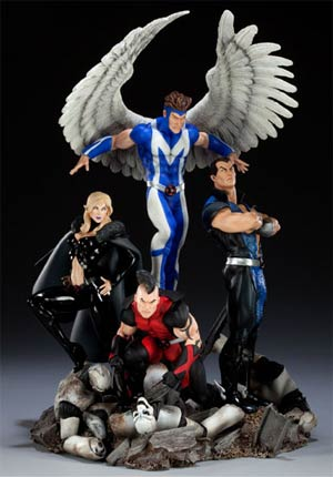 Dark X-Men Diorama Statue
