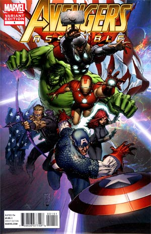Avengers Assemble #1 Incentive Marc Silvestri Variant Cover