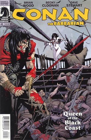 Conan The Barbarian Vol 3 #2 Incentive Leandro Fernandez Variant Cover