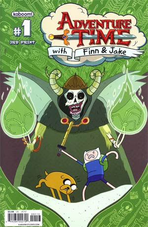 Adventure Time #1 Cover H 3rd Ptg Variant Cover