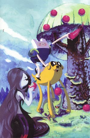 Adventure Time #2 Incentive Frank Gibson & Becky Dreistadt Virgin Variant Cover