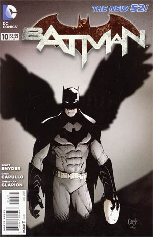 Batman Vol 2 #10 Regular Greg Capullo Cover