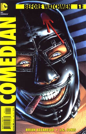 Before Watchmen Comedian #1 Regular JG Jones Cover
