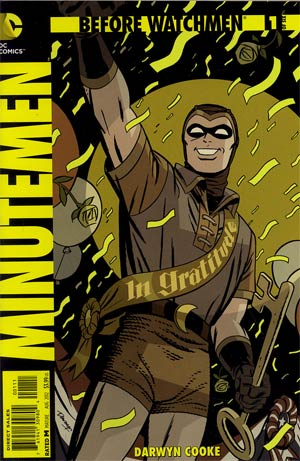 Before Watchmen Minutemen #1 Regular Darwyn Cooke Cover