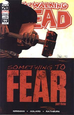 Walking Dead #99 1st Ptg