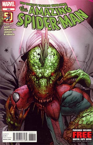 Amazing Spider-Man Vol 2 #688 Regular Stefano Caselli Cover