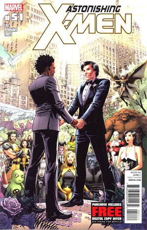 Astonishing X-Men Vol 3 #51 1st Ptg Regular Dustin Weaver Cover