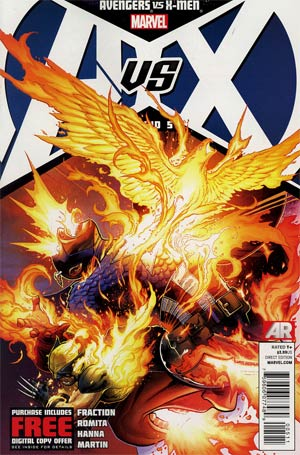 Avengers vs X-Men #5 1st Ptg Regular Jim Cheung Cover