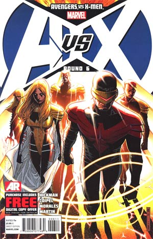 Avengers vs X-Men #6 1st Ptg Regular Jim Cheung Cover