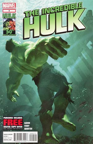 Incredible Hulk Vol 4 #9 Regular Michael Komarck Cover