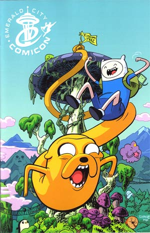Adventure Time #1 Cover F Emerald City Exclusive Cover