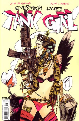 Everybody Loves Tank Girl #1