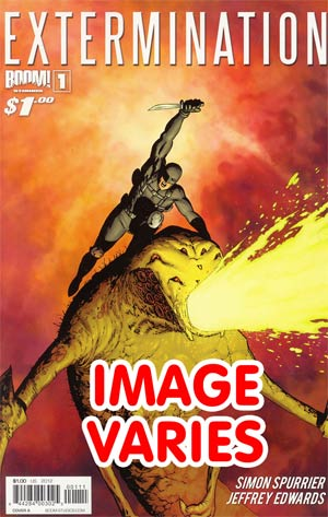 Extermination #1 1st Ptg Regular Cover (Filled Randomly With 1 Of 4 Covers)
