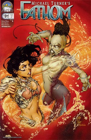Fathom Vol 4 #7 Cover A Alex Konat Cover