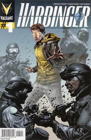 Harbinger Vol 2 #1 Variant Mico Suayan Pullbox Cover