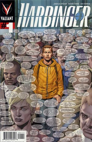 Harbinger Vol 2 #1 1st Ptg Regular Arturo Lozzi Cover