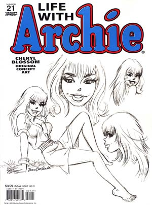 Life With Archie Married Life #21 Dan DeCarlo Cover