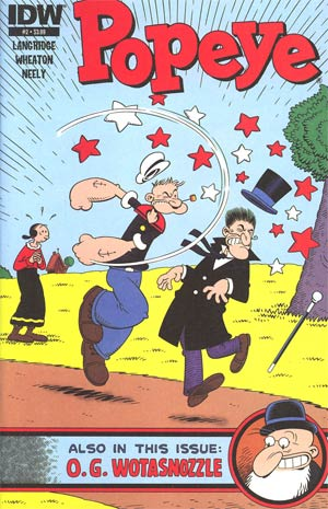 Popeye Vol 3 #2 Regular Roger Langridge Cover
