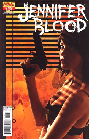 Garth Ennis Jennifer Blood #16 Regular Tim Bradstreet Cover