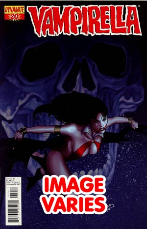 DO NOT USE Vampirella Vol 4 #20 Regular Cover (Filled Randomly With 1 Of 4 Covers)