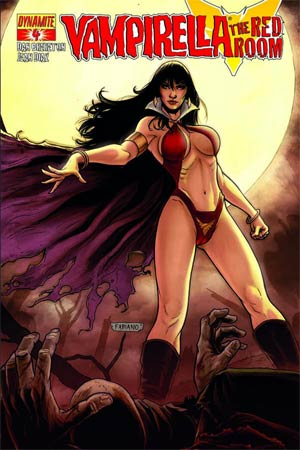 DO NOT USE Vampirella Red Room #4 (Filled Randomly With 1 Of 3 Covers)