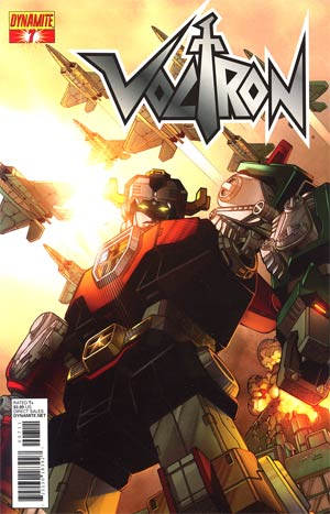 Voltron #7 Cover A Regular Sean Chen Cover
