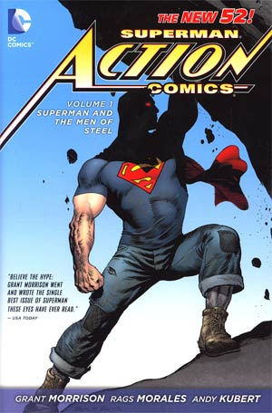 Superman Action Comics Vol 1 Superman And The Men Of Steel HC
