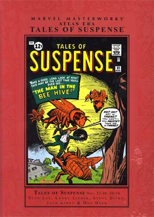 Marvel Masterworks Atlas Era Tales Of Suspense Vol 4 HC Regular Dust Jacket