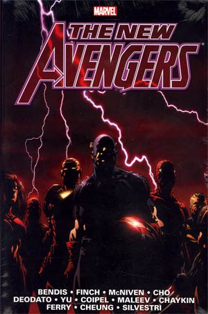 New Avengers Omnibus Vol 1 HC Book Market David Finch Cover