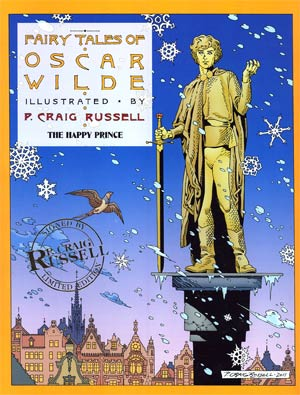 Fairy Tales Of Oscar Wilde Vol 5 Happy Prince Limited Signed HC