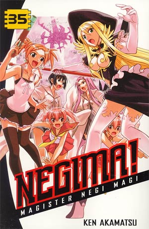 Negima Vol 35 GN