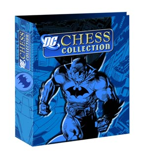 DC Superhero Chess Figure Collector Magazine Binder