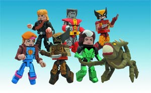 Marvel Minimates Series 47 Set Of 3 2-Packs (Includes Regular Wolverine)
