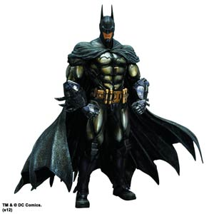 Batman Arkham Asylum Play Arts Kai Armored Batman Action Figure