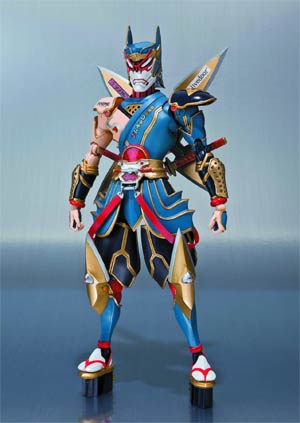 Tiger And Bunny S.H.Figuarts - Origami Cyclone Action Figure