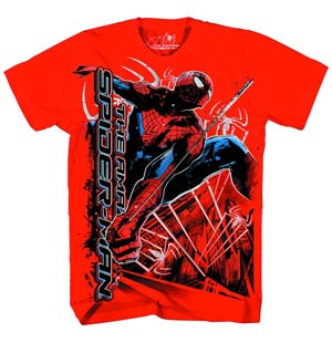 Spider-Man Spider Dynamics Red T-Shirt Large