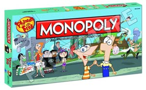 Monopoly Phineas & Ferb Collectors Edition