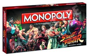 Monopoly Street Fighter Collectors Edition